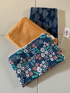 Handmade Large Zippered Pouch