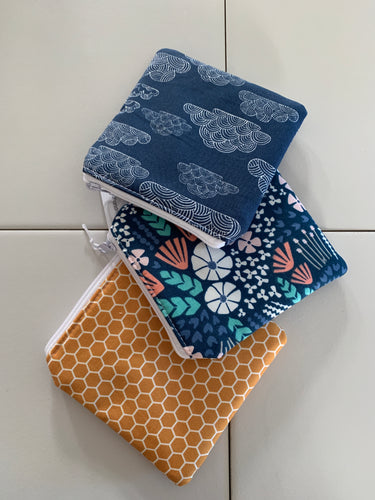 Handmade Essential Oil Zippered Pouch