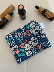 Handmade Small Zippered Pouch