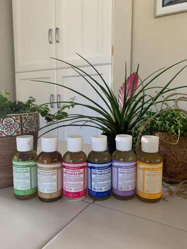 Dr Bronner's Pure Castile Soap 59ml