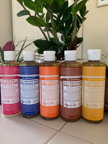 Dr Bronner's Pure Castile Soap 237ml