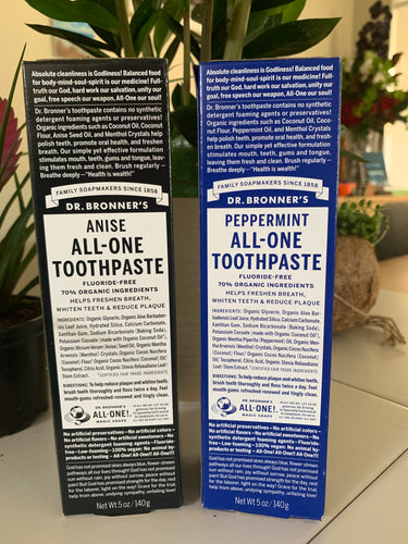 Dr Bronner's Toothpaste