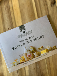 How to Make Butter and Yoghurt