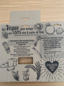 Vegan Food Wrap - Set of 2