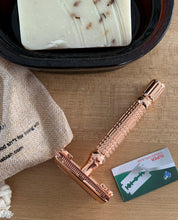 Load image into Gallery viewer, Stainless Steel Safety Razor - Rose Gold