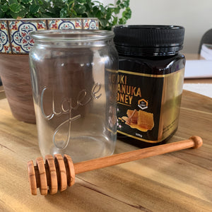 Honey Dipper - Olive Wood
