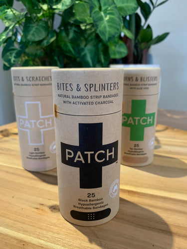 PATCH Activated Charcoal Bamboo Plaster Strips - 25 Tube