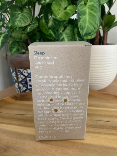 Love Tea Sleep Loose Leaf - Organic