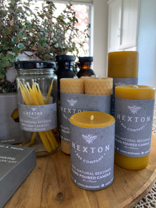 Beeswax Pillar Candles 45 x 75mm