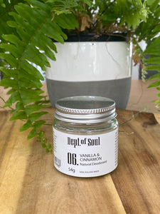 Deodorant Jar - Dept of Soul
