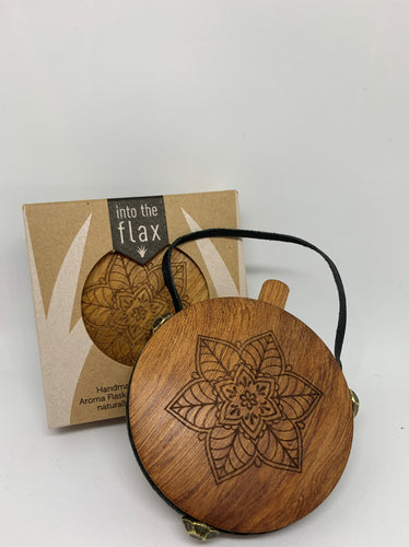 Rimu Aroma Flasks By Into the Flax Mandala Lotus