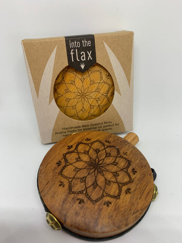 Rimu Aroma Flasks By Into the Flax Mandala Flower