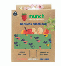 Load image into Gallery viewer, Munch Beeswax Sack Bag