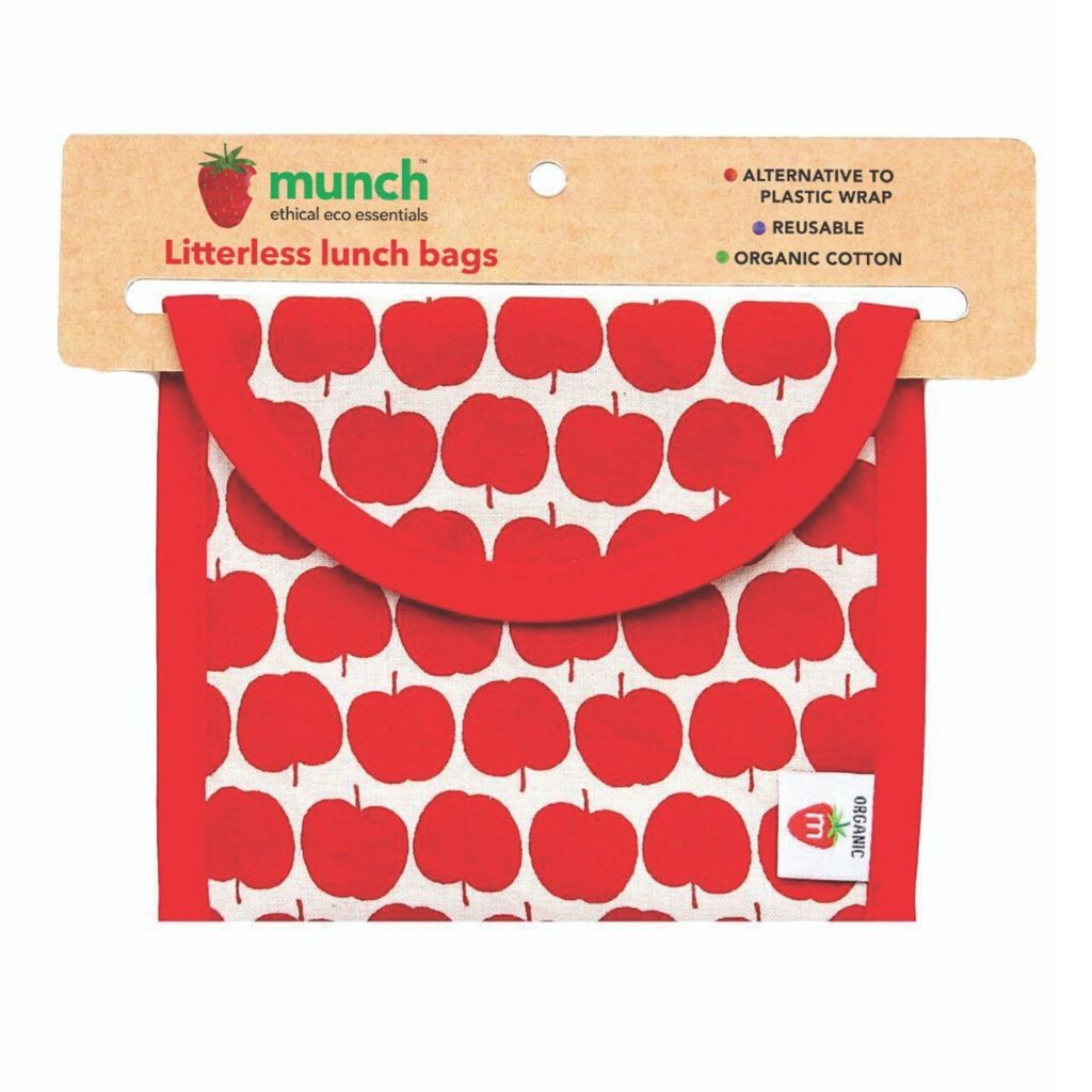 Munch Cotton Lunch Bag