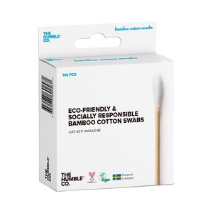 Humble Natural Cotton Swabs - White