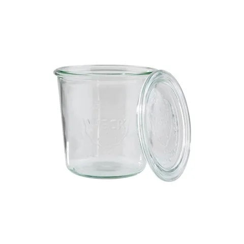 Weck Jar - Wide Mouth With Lid 370ml or 580ml