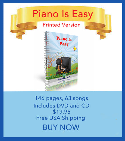 Piano Is Easy Printed Version