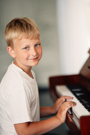 Inside A Kid's Piano Lesson Minute by Minute