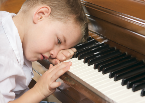 What Bores Children In Piano Lessons