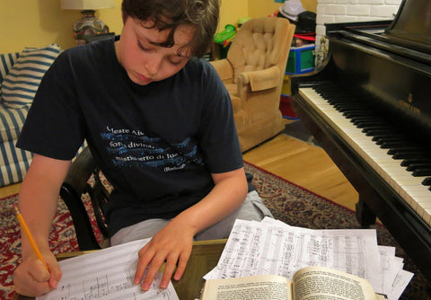 Kid's Piano Composing Activities