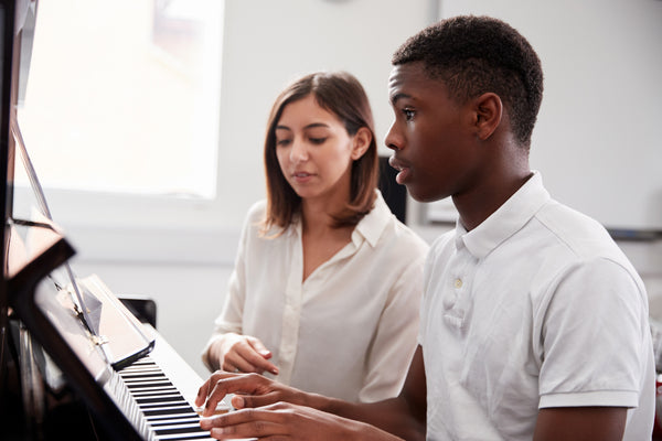 A Patient Piano Teacher