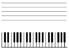 Conventional piano starting point.