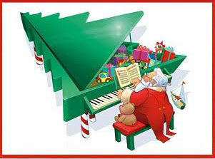 Kids Like Holiday Songs On Piano
