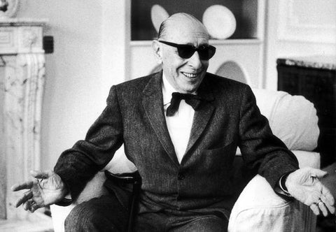 Igor Stravinsky Loses His Cool