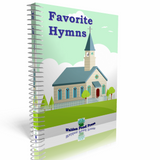 Favorite Hymns Printed Book