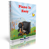 Piano Is Easy Printed Book