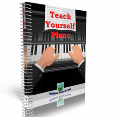 Teach Yourself Piano Printed Book