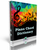 Piano Chord Dictionary Printed Book
