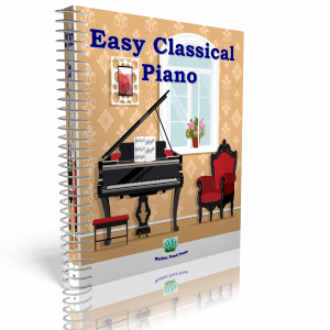 Easy Classical Piano Keyboard Music Hits Adult Children Beginners Play Along CD