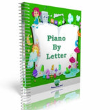Piano By Letter Printed Book