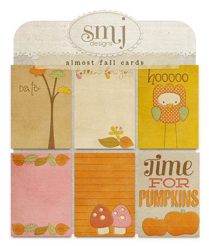Almost Fall Cards