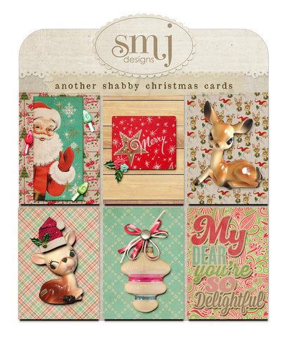 Another Shabby Christmas Cards