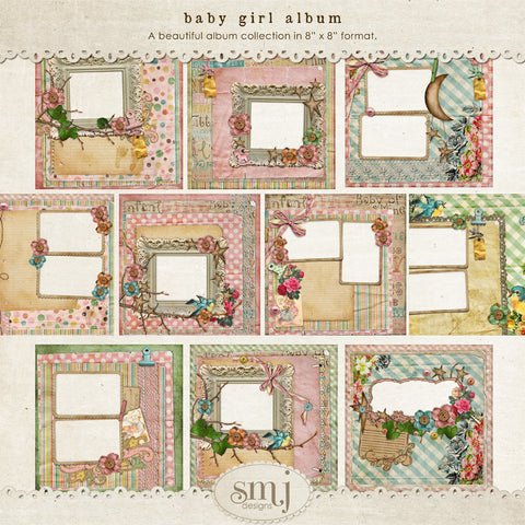 Shabby Babies Album ~ Girl