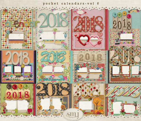 Pocket Calendars Vol 6