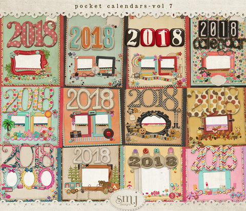Pocket Calendars Vol 7