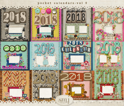 Pocket Calendars Vol 8