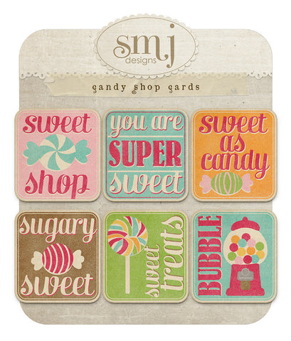 Candy Shop Cards