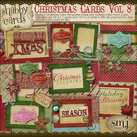 Christmas Cards Vol 8