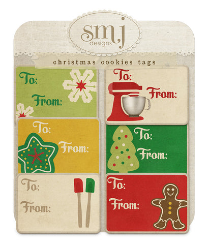 Christmas Cookies Tags
