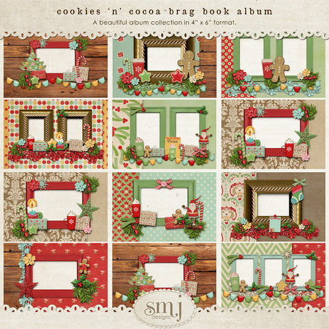 Cookies 'n' Cocoa Brag Book Album