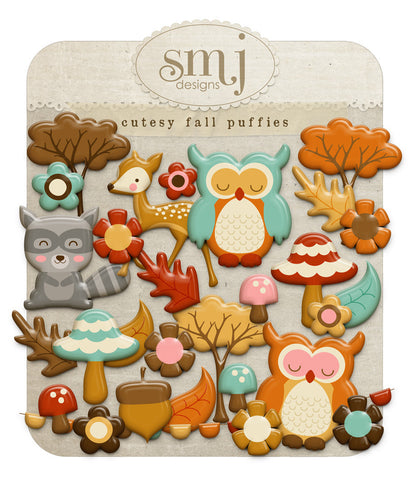 Cutesy Fall Puffies