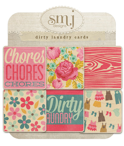 Dirty Laundry Cards