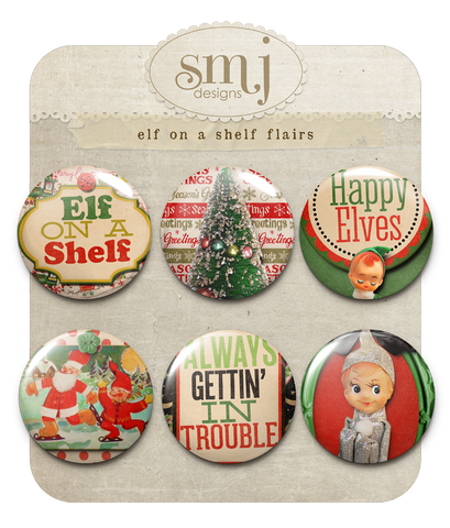 Elf on a Shelf Flairs