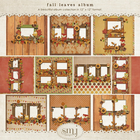 Fall Leaves Album