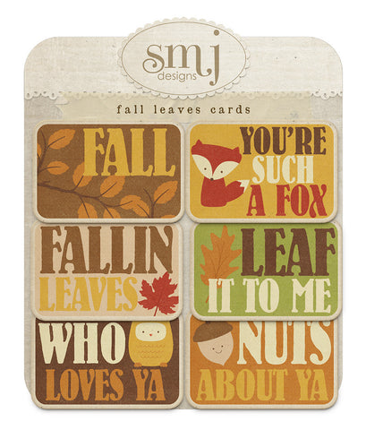 Fall Leaves Cards