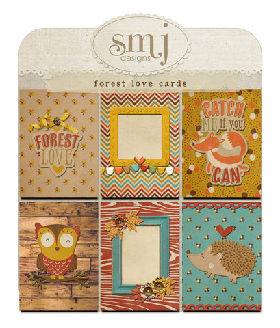 Forest Love Cards